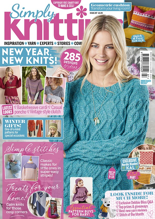 Simply Knitting 207 cover