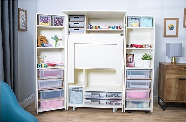 16 Craft Storage Solutions For Your Craft Room Gathered