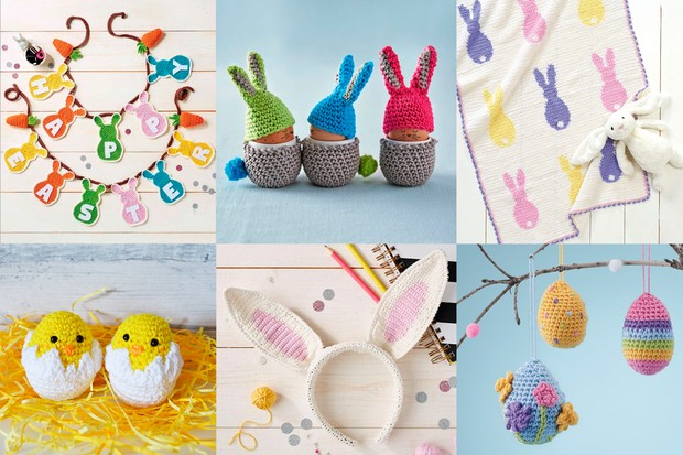Top 50+ Free Easter Crochet patterns