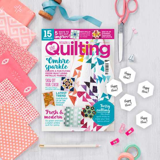 Love Patchwork & Quilting issue 96 cover
