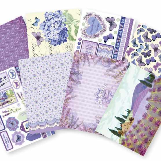 Lavender printable papers