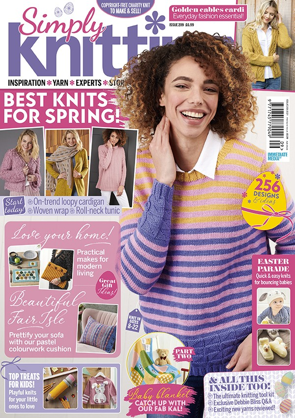 Simply Knitting 209 cover