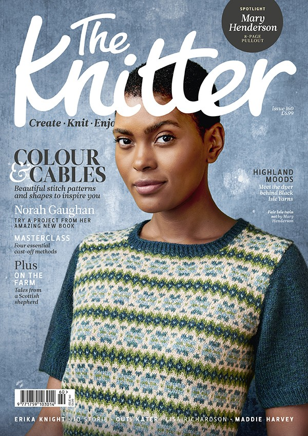 The Knitter 160 cover