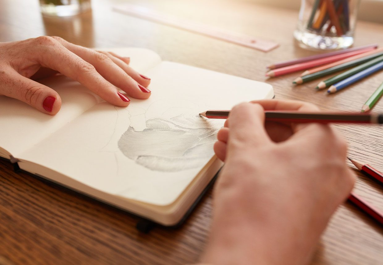 Drawing techniques: pencil drawing for beginners