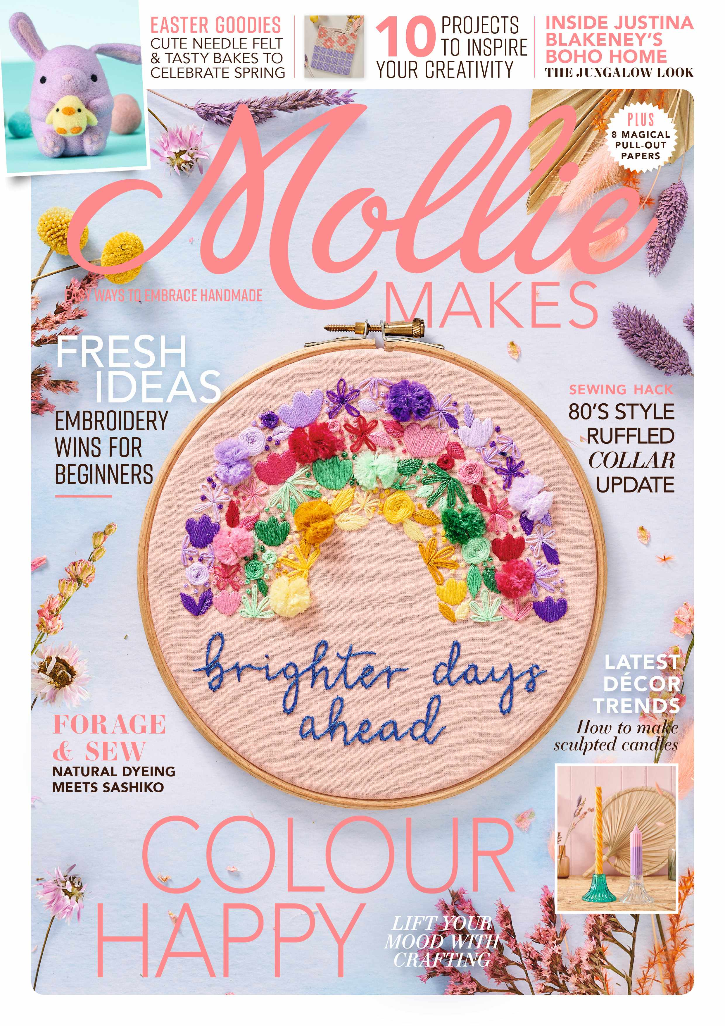 Mollie Makes issue 128 cover