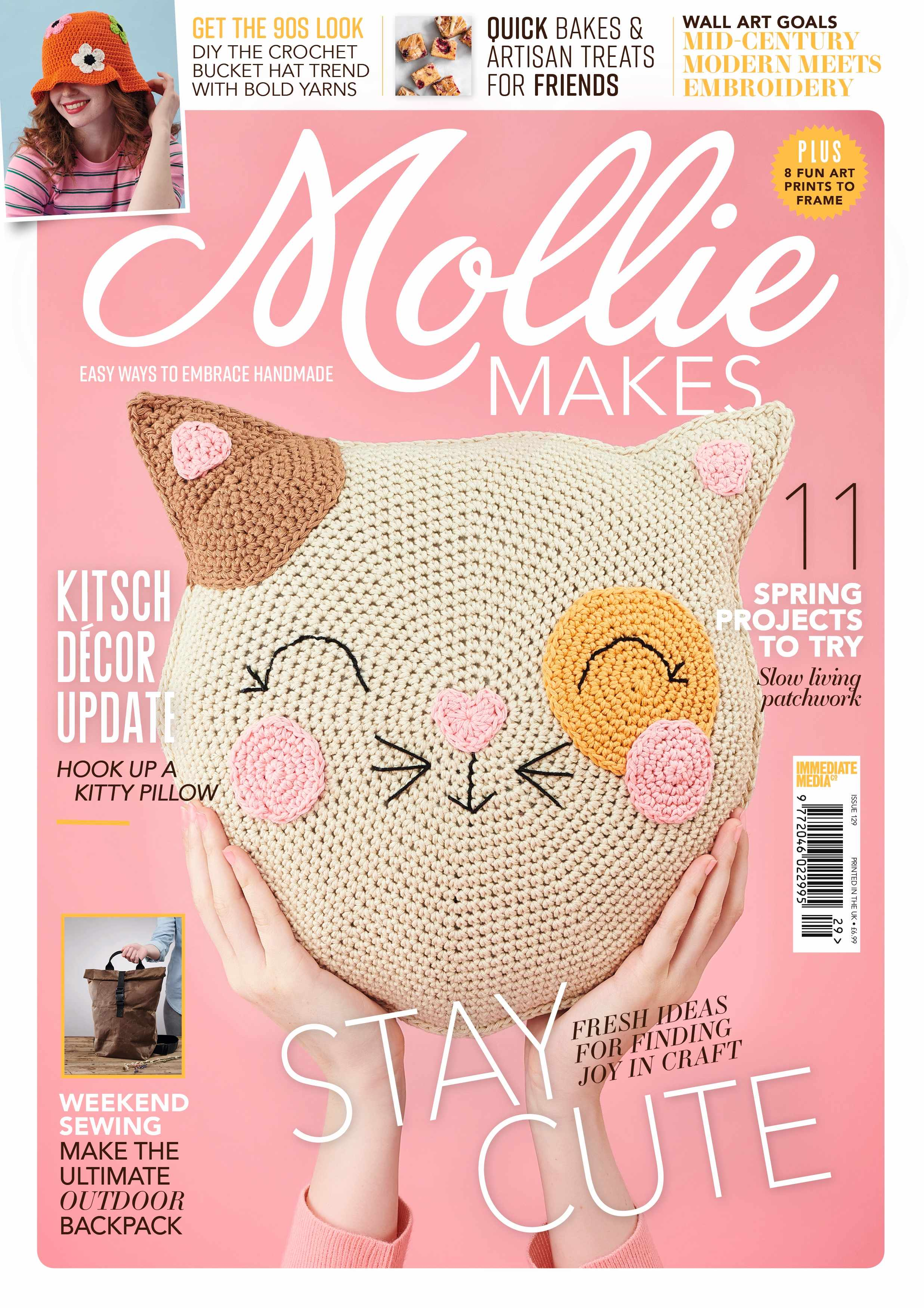 Mollie Makes issue 129
