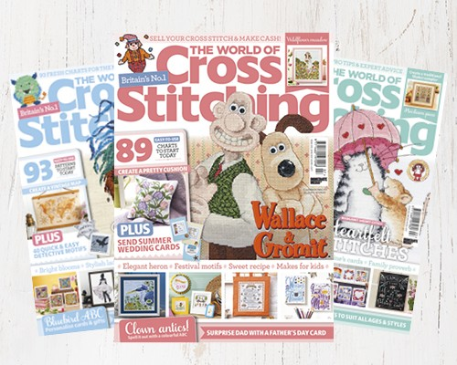 The World of Cross Stitching Magazine Subscribe Page