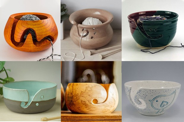 Best yarn bowls for knitting and crochet