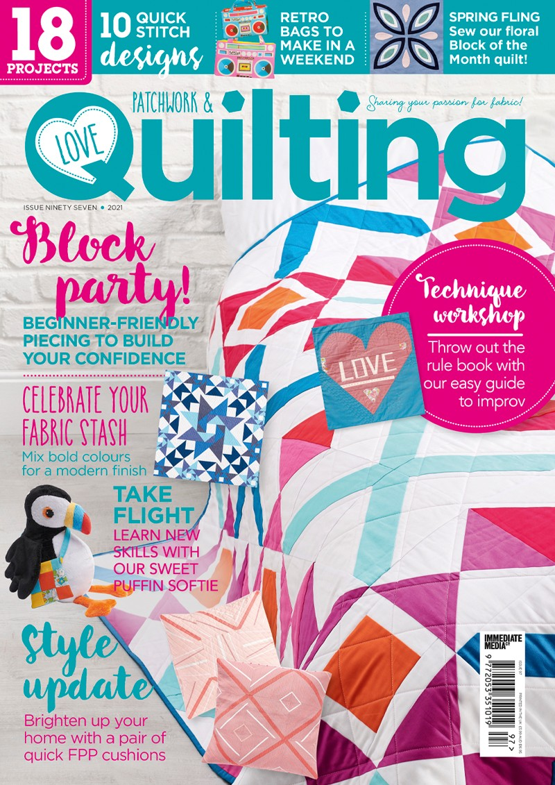 Love Patchwork & uilting issue 97