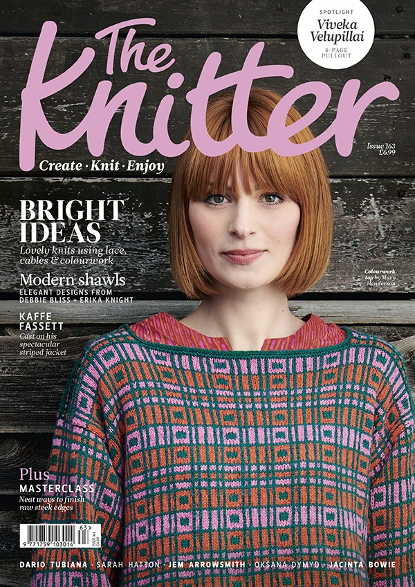 The Knitter 163 cover
