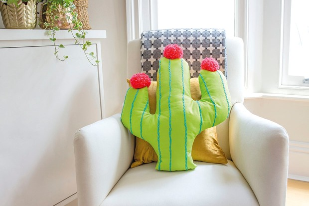 How to make a cactus cushion