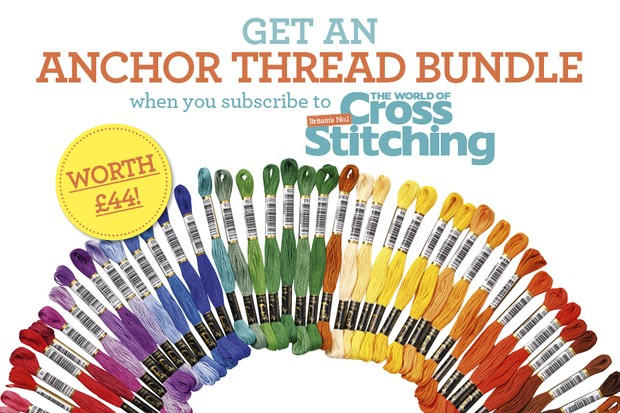 Claim Anchor threads worth £44 when you subscribe