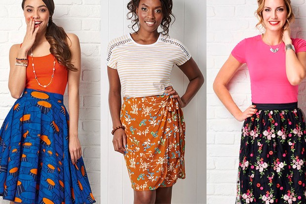 12 Skirt sewing patterns to sew tonight