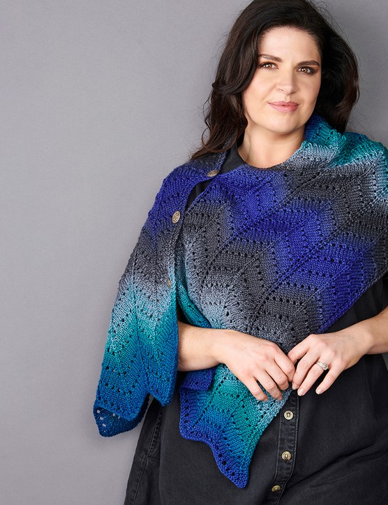 The knitter 168 mary henderson wrap