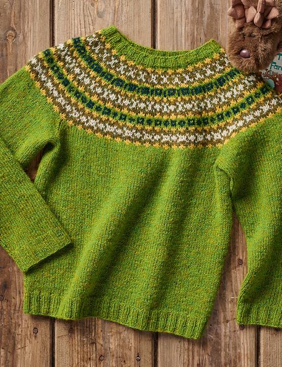 The knitter 168 kids fairisle