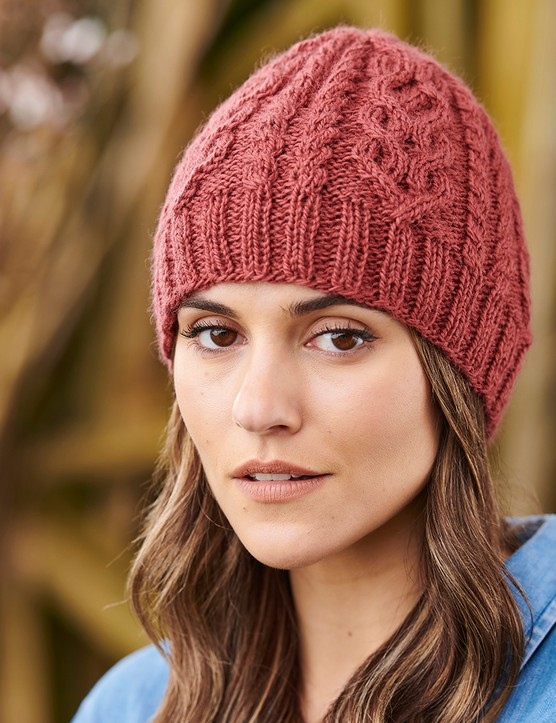 the knitter 168 cable hat