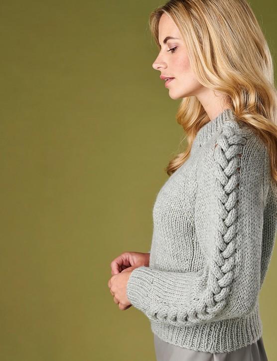 The knitter 168 Jo storie raglan