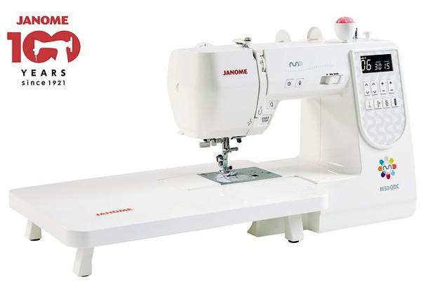 Win a computerised Janome sewing machine!