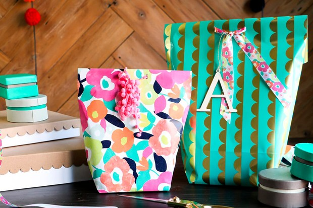 Make your own gift bags - 31 DIY gift bags