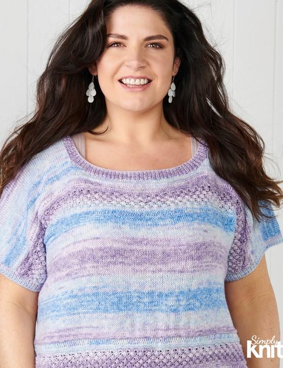 simply knitting 214 tshirt