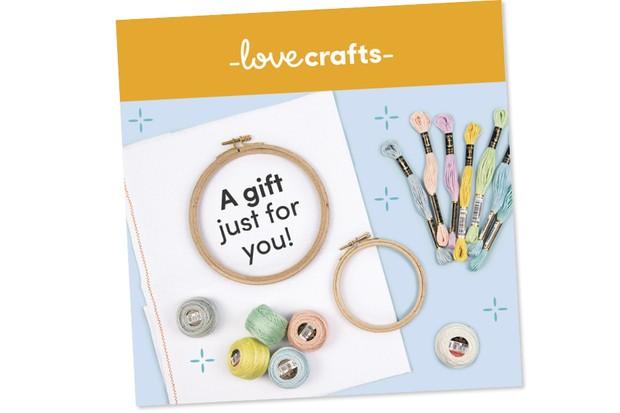 Win a £50 LoveCrafts voucher