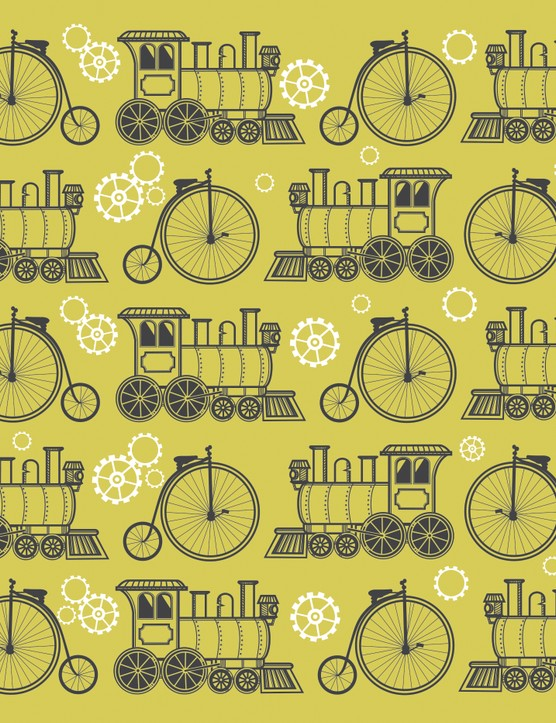 Free blue steampunk papers