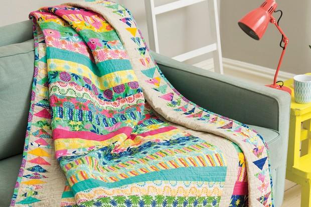 Free Karma strip quilt pattern – turn pre-cut fabrics into a beautiful quilt