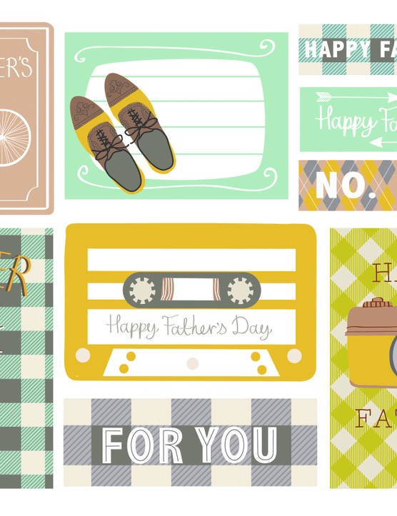 Sally Mountain Father's Day tags