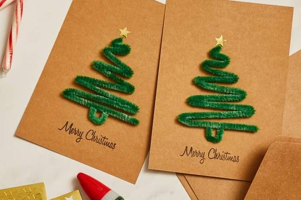 31 easy DIY Christmas cards