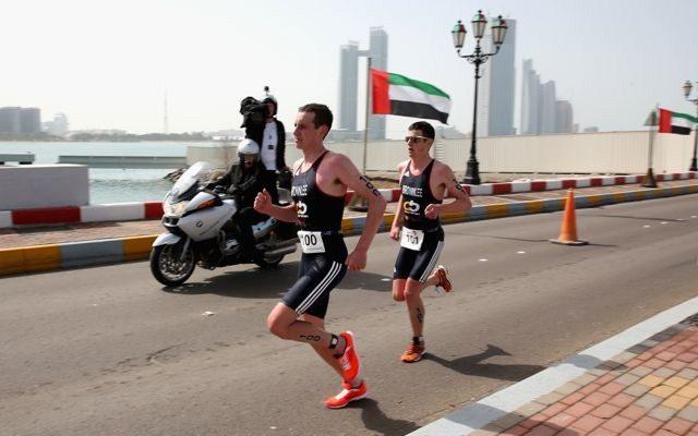 Brownlees racing in Abu Dhabi