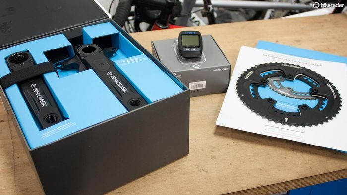 Unboxing of Verve Cycling's InfoCrank