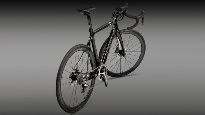 Boardman's SLS 9.8 Disc looks mean in black with simple white detailing