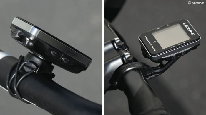 X-Lock mount and out-front mount