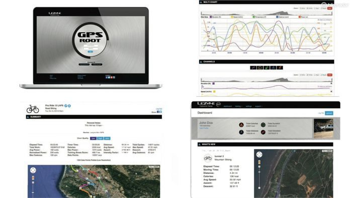 Lezyne GPS Root website