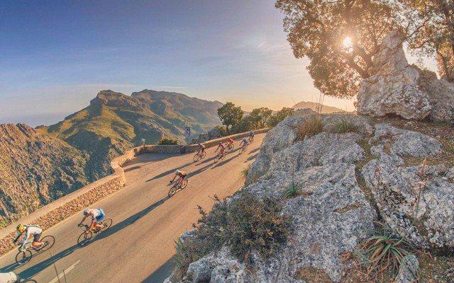 Mountain pass in Mallorca