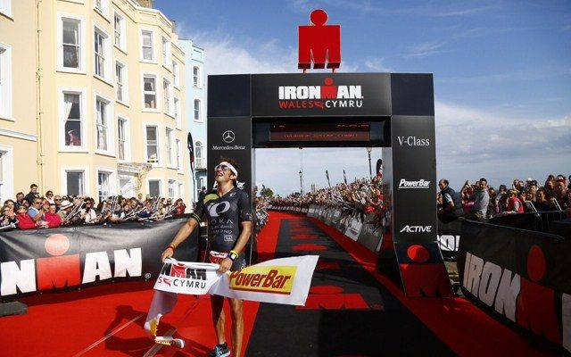 Jesse Thomas wins Ironman Wales 2015