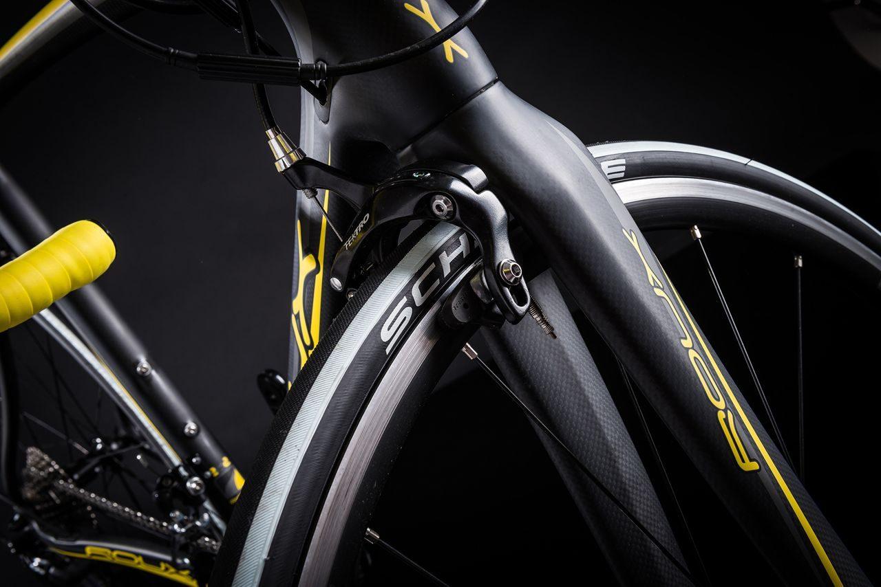 Front brakes on Roux Vercours C9