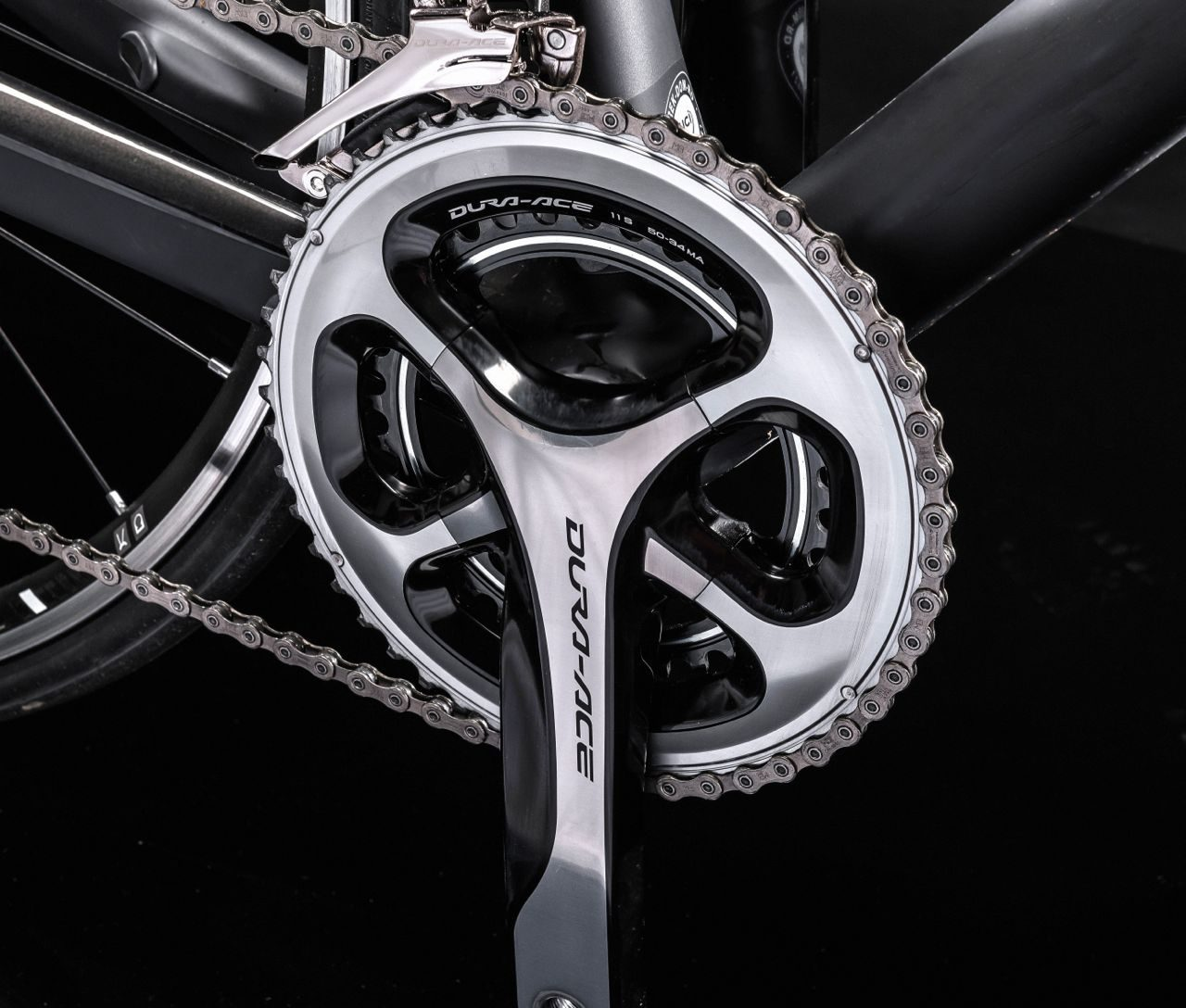 Shimano Dura-Ace 9000 crankset on Trek Domane 5.9
