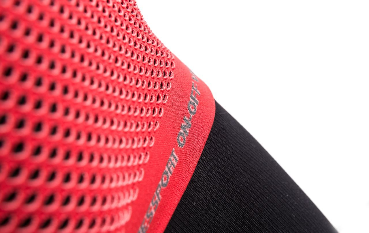 Close-up of compression wear
