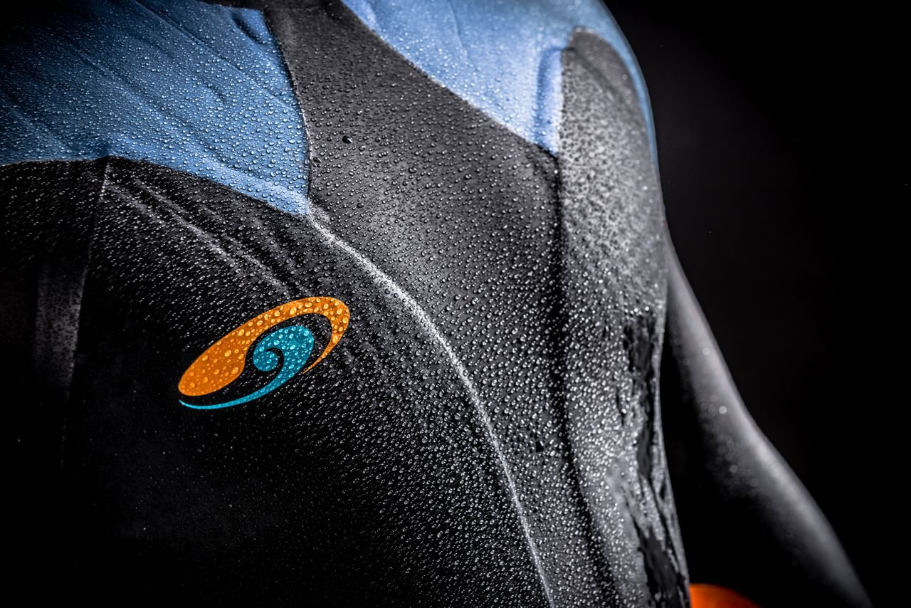 Blueseventy wetsuit detail