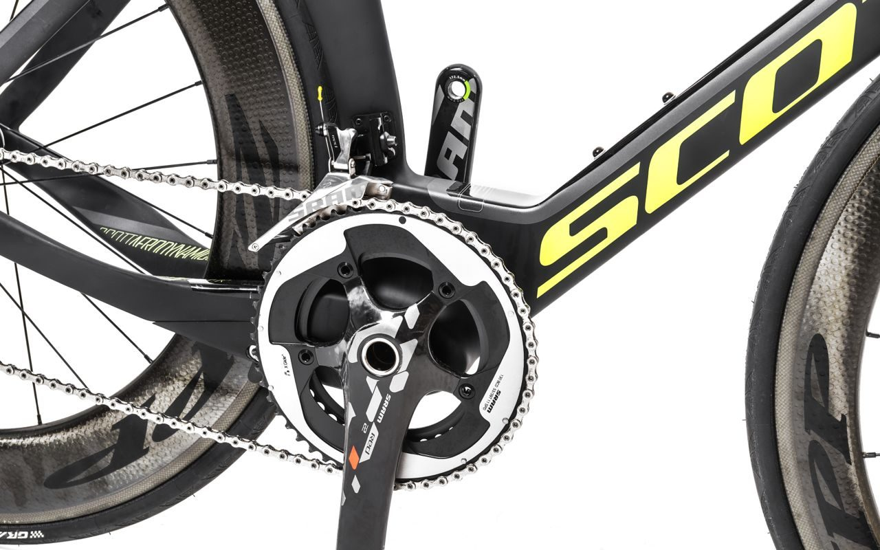 SRAM Red 22 drivetrain on Scott Plasma Team Issue