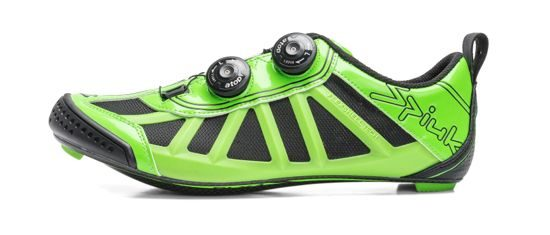 Side-on shot of Spiuk's Pragma T bike shoes