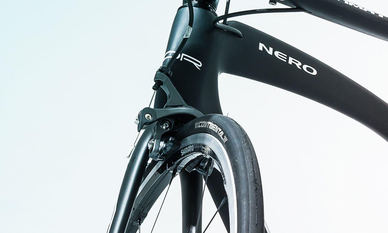 Brakes on ADR Nero Ultegra TT bike