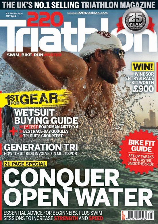 Cover of issue 298 of 220 Triathlon