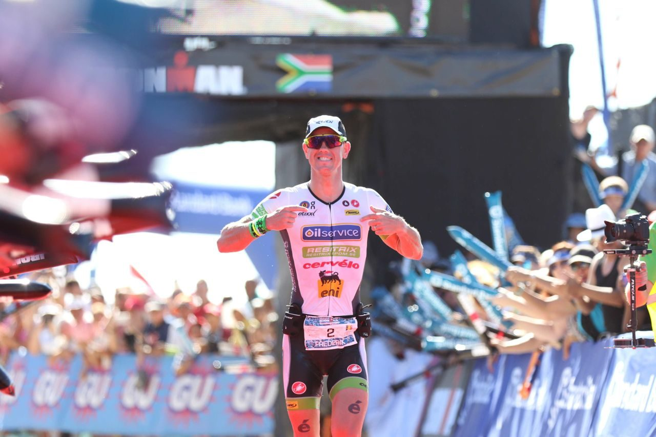 Frederik Van Lierde wins Ironman South Africa 2015