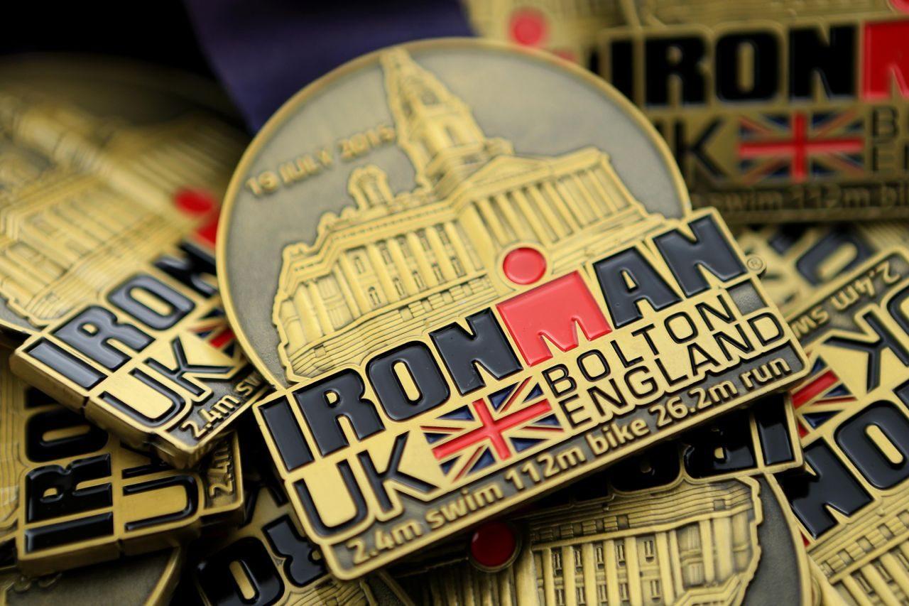 Ironman UK medals