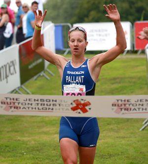 Emma Pallant wins Jenson Button Trust Triathlon