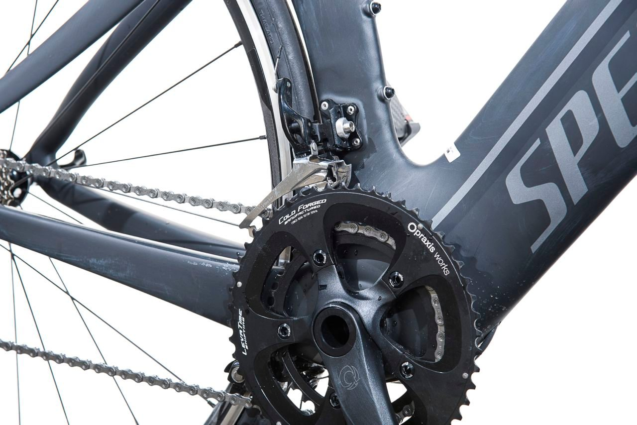 Praxis chainset on Specialized Shiv Elite