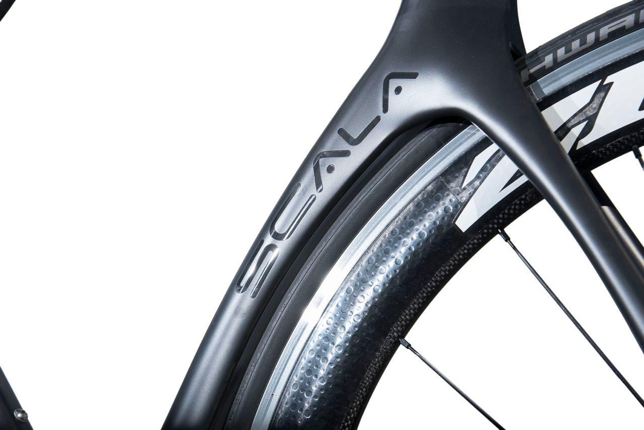 Zipp 60 wheels on Dolan Scala Triathlon