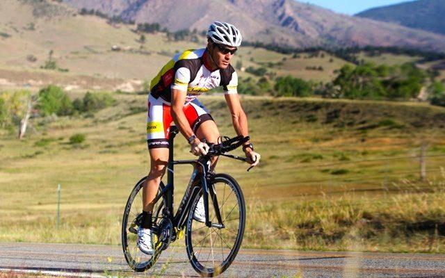 Craig Alexander on the bike